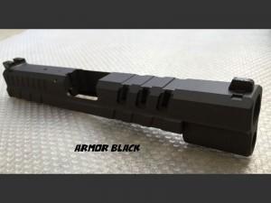 Springfield-XD-5inch-Tactical-Custom-Slide-Cerakote-Armor-Black