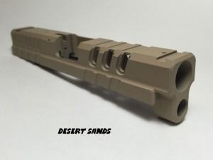 Springfield-XD-Custom-Slide-Cerakote-Desert-Sands