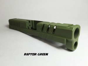 Springfield-XD4-Custom-Slide-Cerakote-Raptor-Green